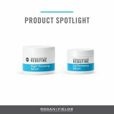 """Spring forward with fresh, glowing, radiant skin. Our REDEFINE Lip Renewing Serum and REDEFINE Night Renewing Serum work together with peptides, retinols and antioxidants to help renew and recharge your skin.   """"Comment"""" below with your best spring skin tip.            www.dawnotteson.myrandf.com dawn.otteson1@gmail.com  #rodanandfields #RFGlow #DecideToday #AMPItUp"""