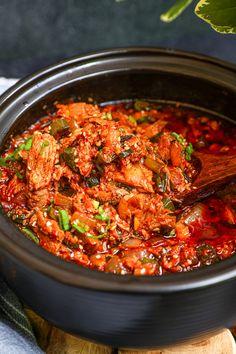 Spicy Tuna Recipe, Tuna Recipes, Spicy Recipes, Veggie Recipes, Asian Recipes, Cooking Recipes, Healthy Recipes, Asian Foods, Chinese Recipes