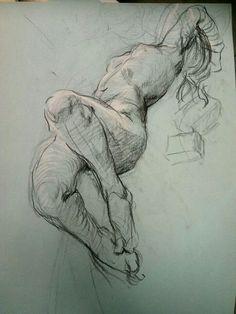 Woman - line study