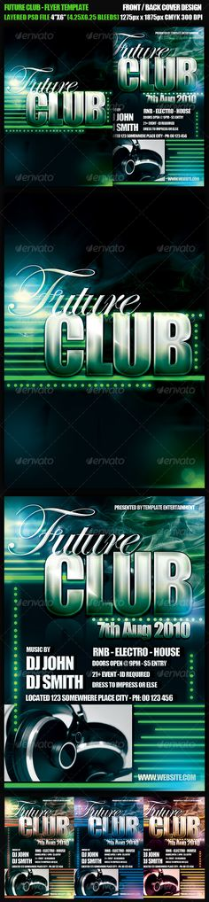 Adagio PosterFlyer Template  Flyer Template Print Templates And