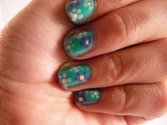 Flower #manicure tutorial with video