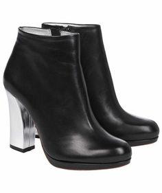 """Schumacher - Damen Stiefeletten """"Let's dance Bootie"""" #booties #dancing #blacknsilver"""