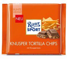 RITTER SPORT Knusper Tortilla Chips (bis 2016 im Sortiment)