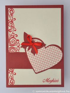 Vörös pillangó esküvői meghívó, meghívó, kinyitható esküvői meghívó, vörös esküvői meghívó, szalagos esküvői meghívó, sannaeskuvoimeghivo, egyedi esküvői meghívó, wedding card