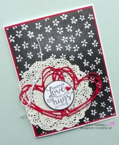 Ribbon of Courage and Sunshine Wishes by Stampin' Up