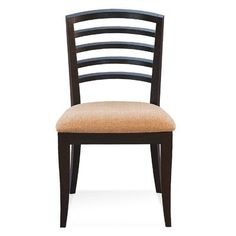Saloom Furniture Peter Francis Side Chair Finish: Aurora, Upholstery: Chambray