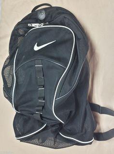 blue nike mesh backpack