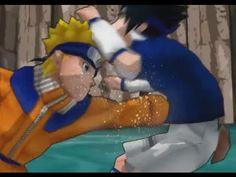 Naruto vs Sasuke Best fight - part1