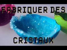 Expérience - Fabrication de cristaux ! avec de la poudre d'alun Dr Nozman…