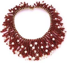 Magnificent Jewels From the Doris Duke Collection Sale Lot 79 David Webb A spectacular ruby and cultured pearl necklace Ruby Jewelry, Beaded Jewelry, Jewelery, Silver Jewelry, Handmade Jewellery, 925 Silver, Jewelry Box, Sterling Silver, Pearl Choker Necklace