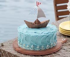 Nautical Birthday Party - Celebrate Magazine