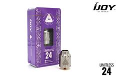 In stock !!! The first batch ijoy limitless 24 rda in stock now. Limited stock,please order soon if you are interested in it.  Skype:linbonnie16@163.com WhatsApp:+86 15012560090