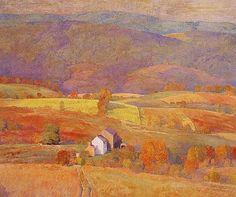 Landscape Painting by American Impressionist Artist Daniel Garber