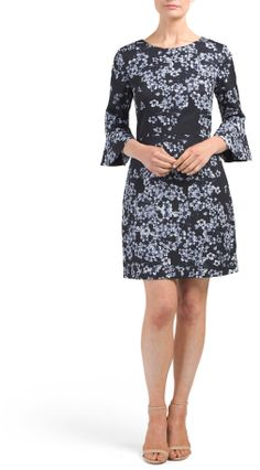 Ava Three-quarter Sleeve Dress