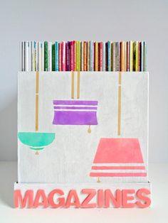 DIY Paper Mache Box Magazine