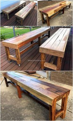 giant bench out of p