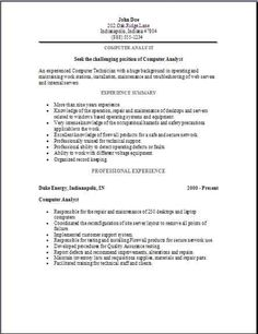It Repair Sample Resume Interesting Labeling Page 2 Of Resume  Performance Professional  Essay Helper .