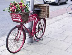 A Bicycle Has Many Uses. I think this would look great in downtown Wenatchee at all the corners on the Ave. Each bike could be decorated differently by a sponsor who then plants the plants to match.