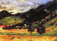 Wassily Kandinsky - Landscape                                                                                                                                                                                 More