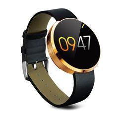 DM360 Smart Uhr Round Bluetooth Wasserdichte Smartwatch Fitness Tracker Schrittzähler Herzfrequenz Für iPhone Android VS G3 U8 Uhr //Price: $US $69.76 & FREE Shipping // #smartwatches