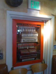 in case of emergency - break glass - save accordions