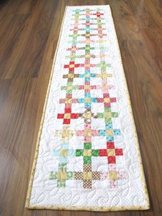 Scrappy Summer Sew Along - Sweet and Simple Runner Tutorial!!! ...