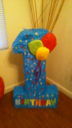 First birthday pinata number one