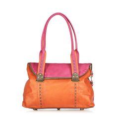 Spencer & Rutherford Una Flamenca Leather Handbag