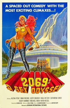 Science fiction nude vintage