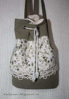 Чтобы отвлечься от кучи фермуаров, сшила летнюю тканевую сумку на молнии.        Размеры:   Ширина в самом широком месте примерно 35 см   В...