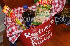 Redneck Picnic Basket-4