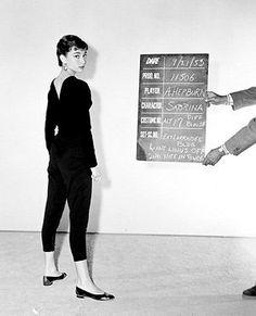 Sabrina wardrobe test shot, September 22, 1953.     Copyright © Paramount Pictures.