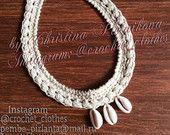 #boho #bohochoker #bohochocker #necklace #shellnecklace