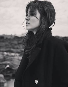 Extra Shots of Song Hye Kyo for Elle China's June 2016 Issue Korean Actresses, Korean Actors, Actors & Actresses, Song Hye Kyo, Song Joong Ki, Big Chop Natural Hair, Natural Hair Styles, Korean Star, Korean Girl