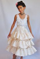 Historically inspired by the 18th century, a princess dress in pink satin and cream taffeta....   This morning, I sent this ensemeble off fo...