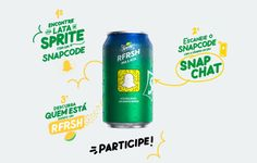 Sprite's new campaign puts customized Snapchat codes on cans in Brazil -- and has driven more than 2 million views to affiliated accounts in just a few days, according to the people behind the effort. The company shipped millions of cans with the  Snapchat logo slapped on the side — codes that can be scanned and lead consumers to celebrity accounts on the messaging app. Sprite will soon start to print everyday consumers' Snapchat account codes on cans, too.