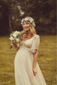 pregnant wedding dress - Google Search