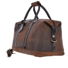 Large Vintage Leather Travel Holdall Dimensions (l) (h) (w) genuine leather Large travel flight, weekend holdall Zip top closure External pockets x 2 Easy carry removable and Large Messenger Bags, Cabin Luggage, Hand Wax, Leather Company, Wash Bags, Vintage Travel, Vintage Leather, Body Bag, Travel Bags