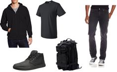 Elliot Alderson (Mr. Robot) clothing selection for costume.  I'm a Systems Admin and use this bag every day. The actual bag is here  http://www.amazon.com/gp/product/B005KDBHWM?psc=1&redirect=true&ref_=oh_aui_detailpage_o06_s00