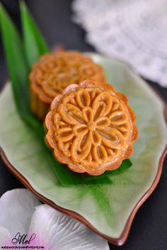 Through The Kitchen Door: Traditional Mooncakes