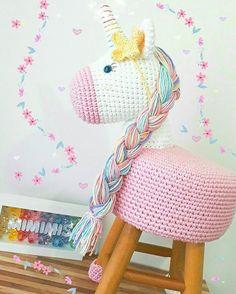 Crochet Bebe Amigurumi Tejidos Ideas For 2019 Crochet Home, Cute Crochet, Crochet Baby, Knit Crochet, Crochet Mermaid, Crochet Unicorn, Yarn Crafts, Diy And Crafts, Crochet Mignon