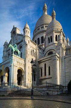 Sacré-Coeur, Paris, France  ~Repinned Via Marie Christine Vandamme
