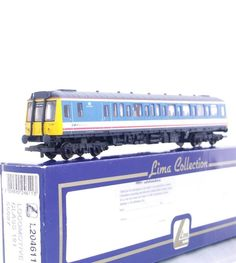 """FOR SALE - LIMA L204611 - NSE NETWORK SOUTH EAST LIVERY CLASS 121 """"BUBBLE CAR""""  RAIL BUS"""