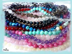 Bangles, Beaded Bracelets, Mandala, Gemstones, Health, Reiki, Jewelry, Fashion, Minerals