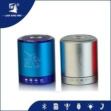 Aluminum alloy bluetooth speaker, HOT PRODUCTS, bluetooth speaker with LED light direct from China (Mainland)