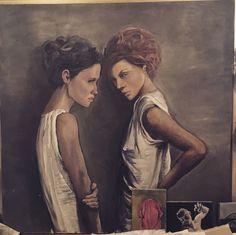 Oil painting - Alessandra Spigai  100x 100
