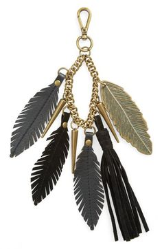 Elle & Jae Gypset 'Feather' Bag Charm