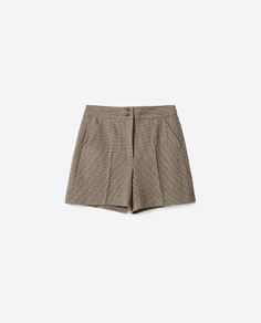 Image 8 of CHECK BERMUDA SHORTS from Zara