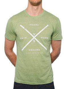Fears vs Dreams & Pain vs Hope tee www.twloha.com Heather Green