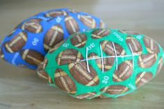 Football season has begun! We're making yummy football treats and tossing around soft football toys. These will hopefully be a little softer and easier on your household items as they get tossed around while you watch the game! Supplies for... Continue Reading →